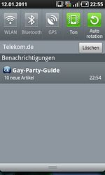 Gay-Party-Guide App Notification